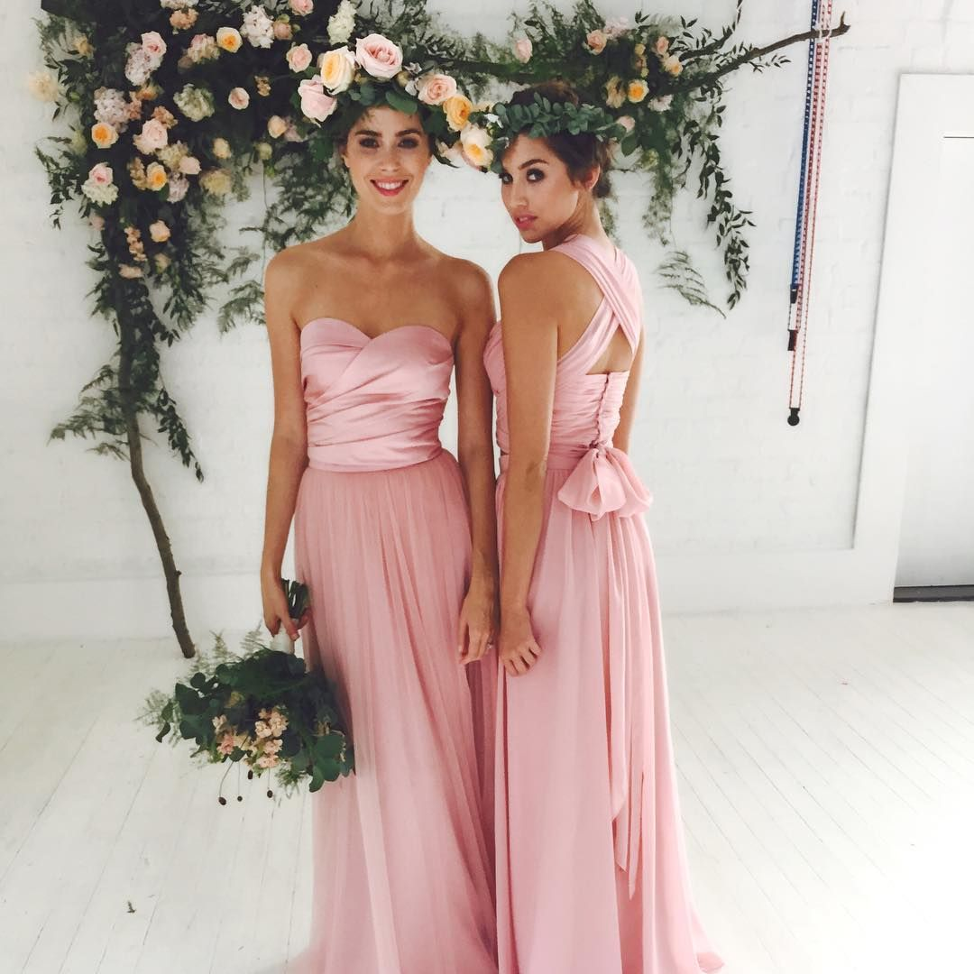 Pin by INNOVIA Vestidos de Novia on Damas | Pinterest | Dusty rose