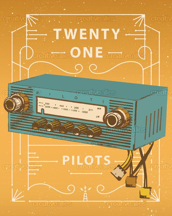 twenty   one   pilots Poster by Christian Smith on CreativeAllies ...