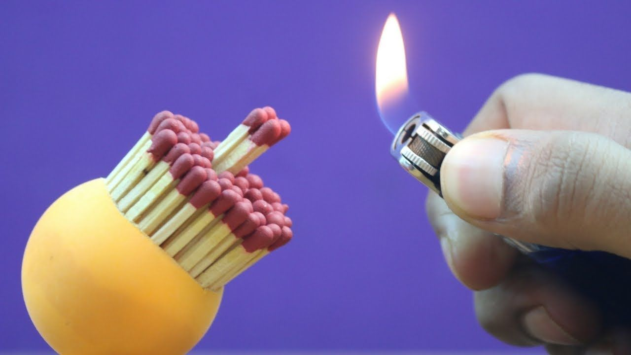 EXPERIMENTS WITH MATCHES STICKS | FUN EXPERIMENTS | 5 MINUTE CRAFTS VIDEOS