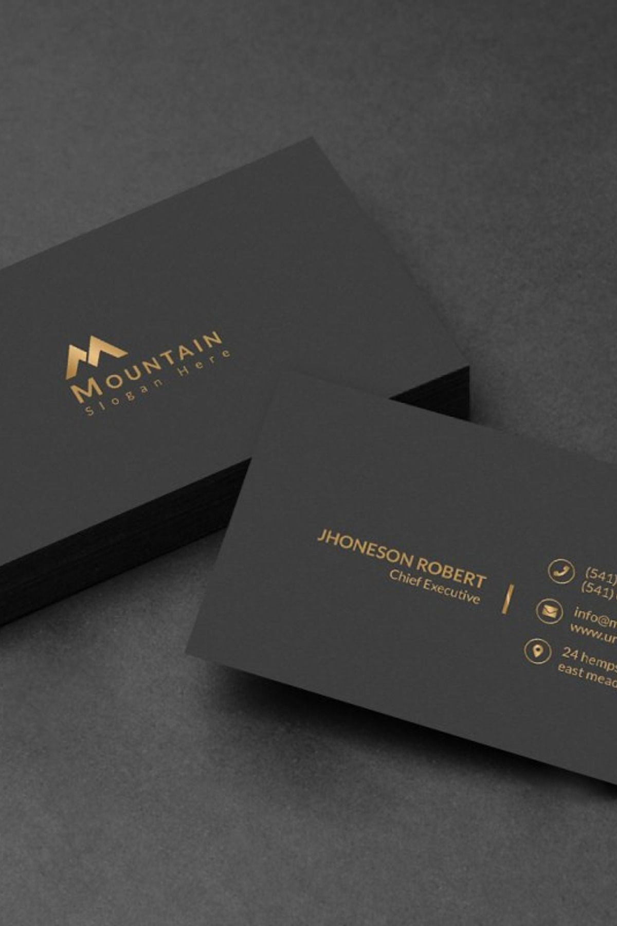 Business Card Elegant Business Cards Design Graphic Design Business Card Visiting Card Design
