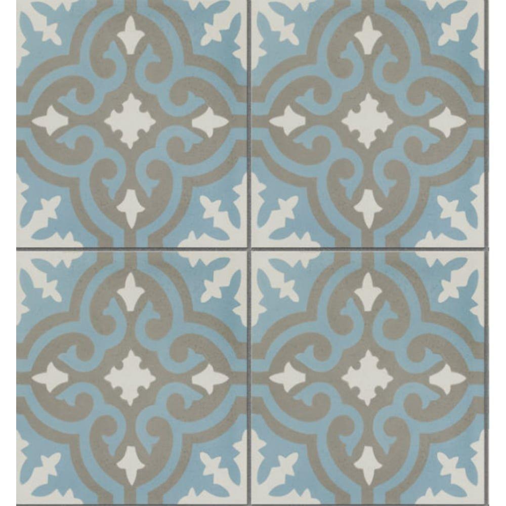 Ca\'Pietra Cement Encaustic Casablanca Pattern Tile - Flooring from ...