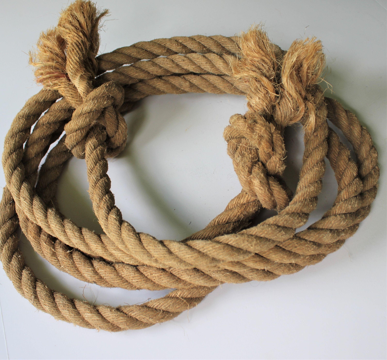 Vintage Sisal Barn Rope Large Thick Sisal Jute Rope For Etsy In 2020 Jute Rope Sisal Pressed Tin Tiles