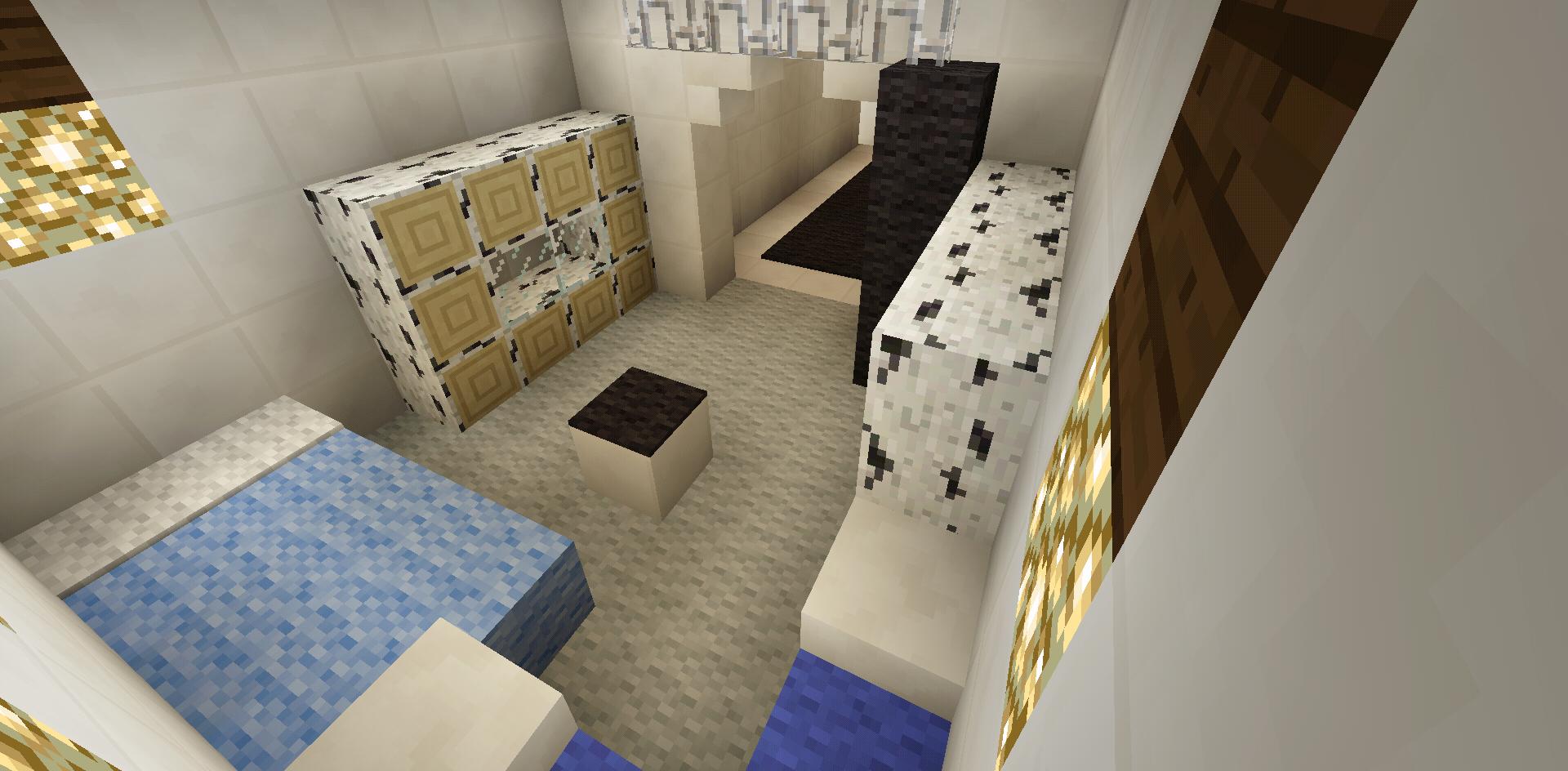 Minecraft Infirmary Hospital Room Minecraft Room