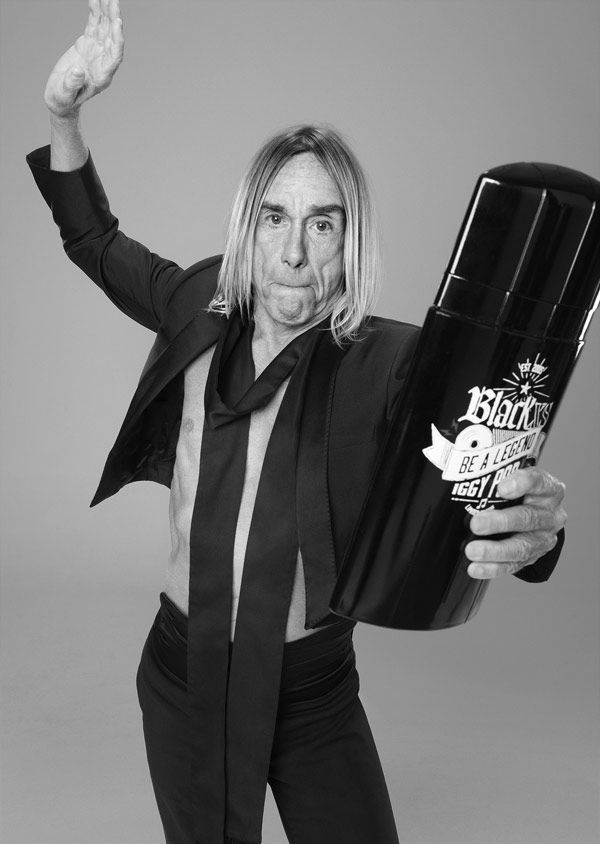 iggy pop black xs be a legend paco rabanne - Buscar con Google