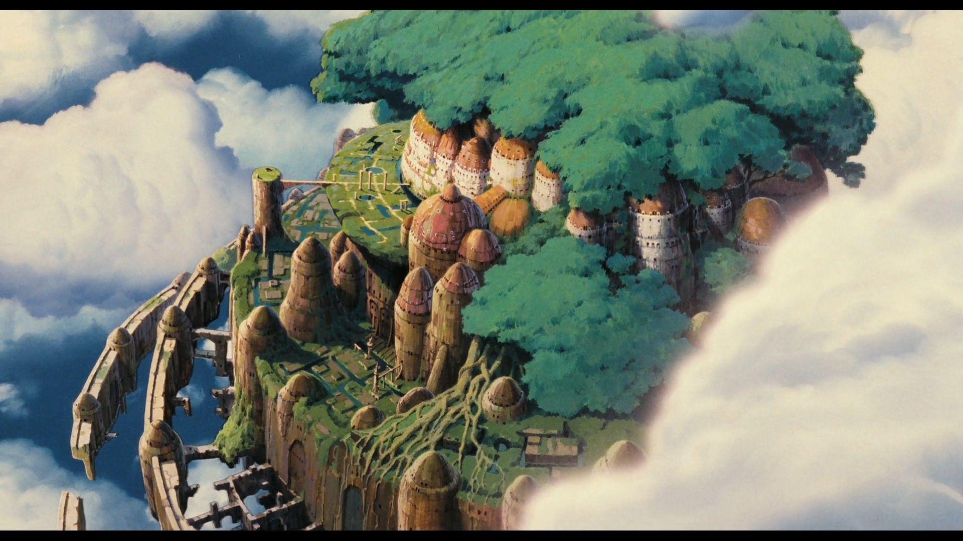 Movie Laputa Castle In The Sky Wallpaper Studio Ghibli