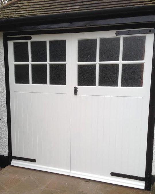 Sidbury Garage Doorsa Pair Of Framed Ledged And Braced 12