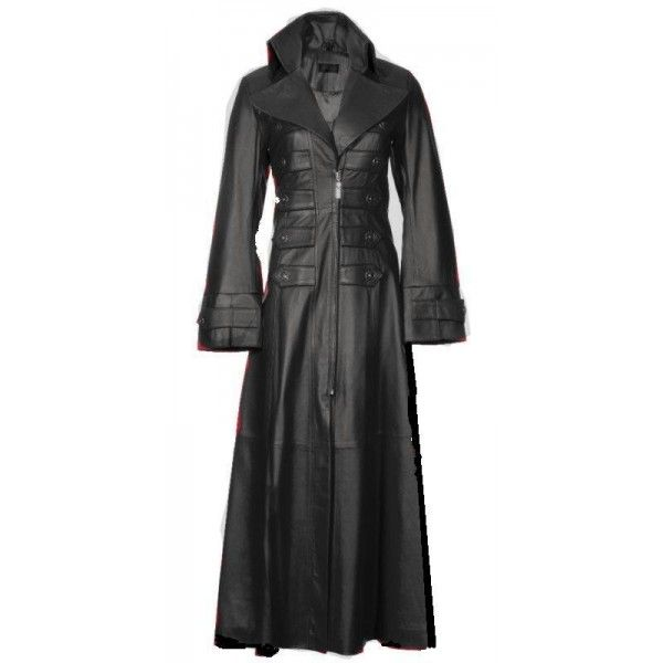 Ladie's Steampunk Gothic Coat