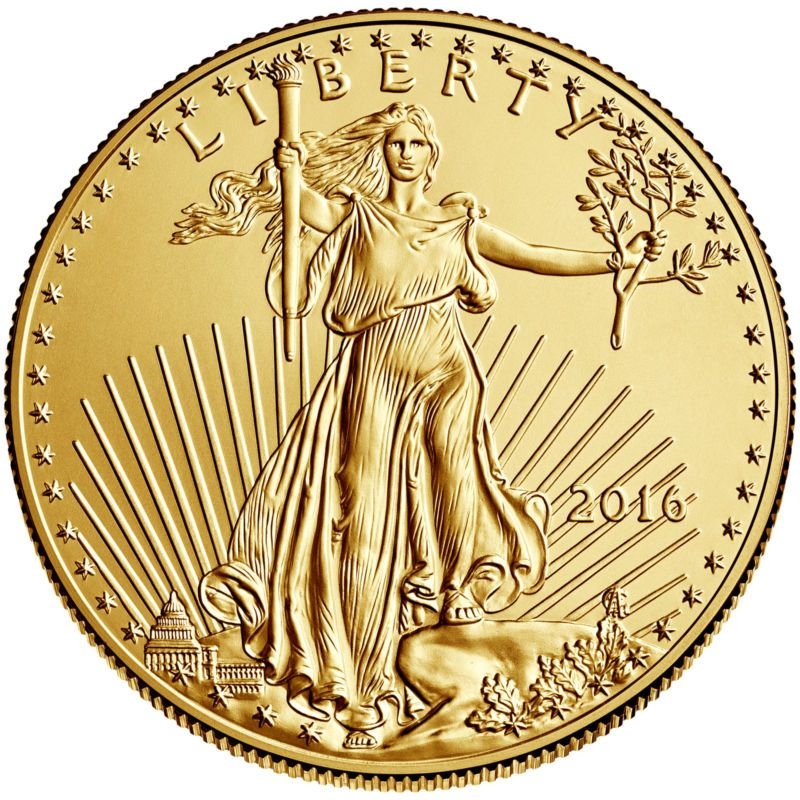 2016 5 1 10oz American Gold Eagle Bu Ad Gold Bullion Coins American Eagle Gold Coin Gold American Eagle