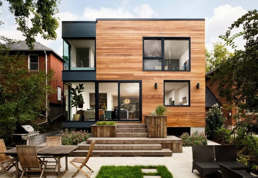 House in Toronto by Men At Work General Contractors Fachadas - fachadas contemporaneas
