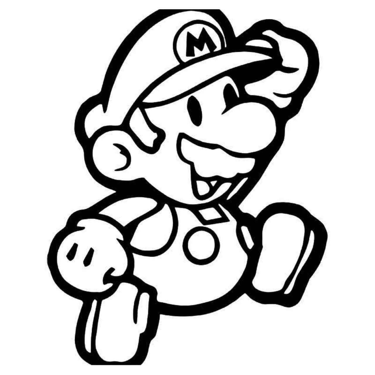 Super Mario Gaming 1 Vinyl Decal Sticker