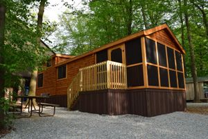 The Park Model Log Cabin That Everyone Is Crazy About See Why At Just  $21,900
