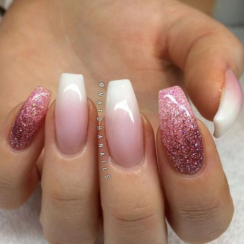 Ombre Nails – 175 Best Ombre Nails | Ombre, Nail nail and Manicure