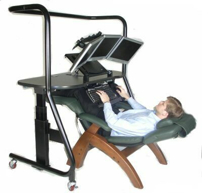 Stand up ergonomic desk ergonomics interesting for Sillas ergonomicas para pc