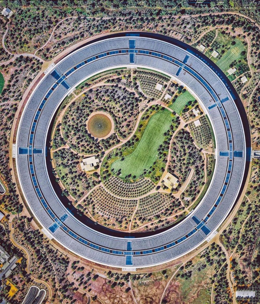 """Nearmap on Instagram """"Repost dailyoverview ・・・ Apple"""