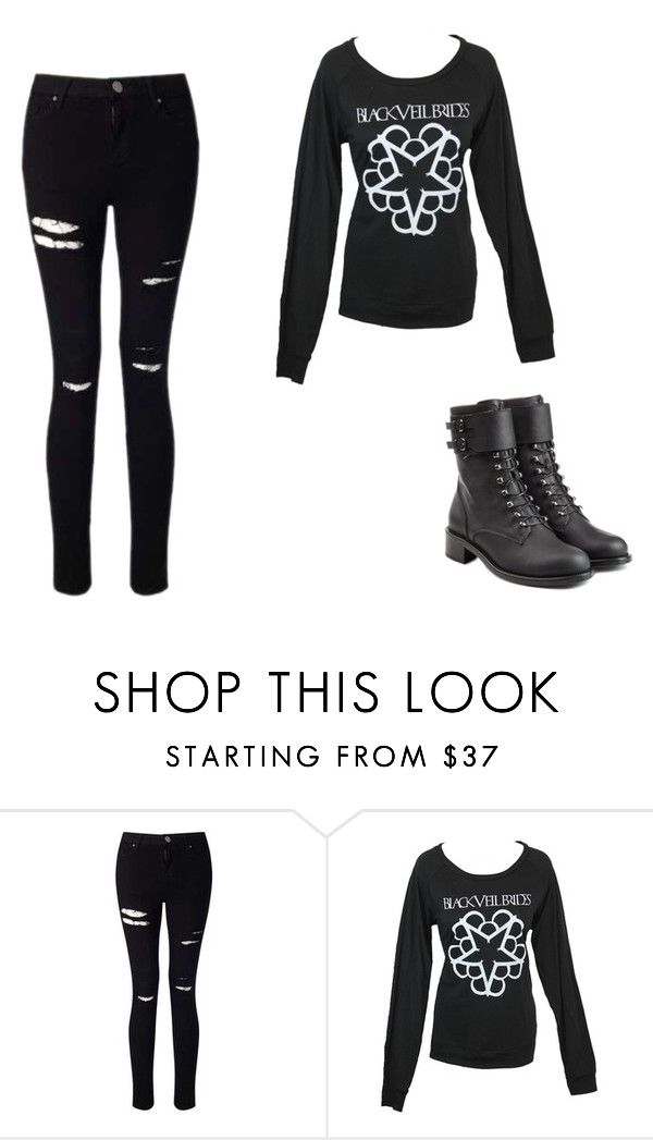 """Untitled #347"" by ootori5sos on Polyvore featuring Miss Selfridge and Philosophy di Lorenzo Serafini"