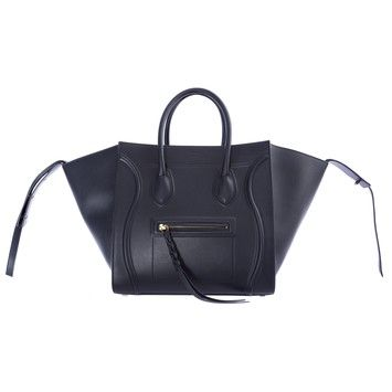fd475479c Celine Medium Square Luggage Phantom Leather Handbag Msrp $3100 Navy Tote  Bag. Get one of the hottest styles of the season! The Celine Medium Square  Luggage ...