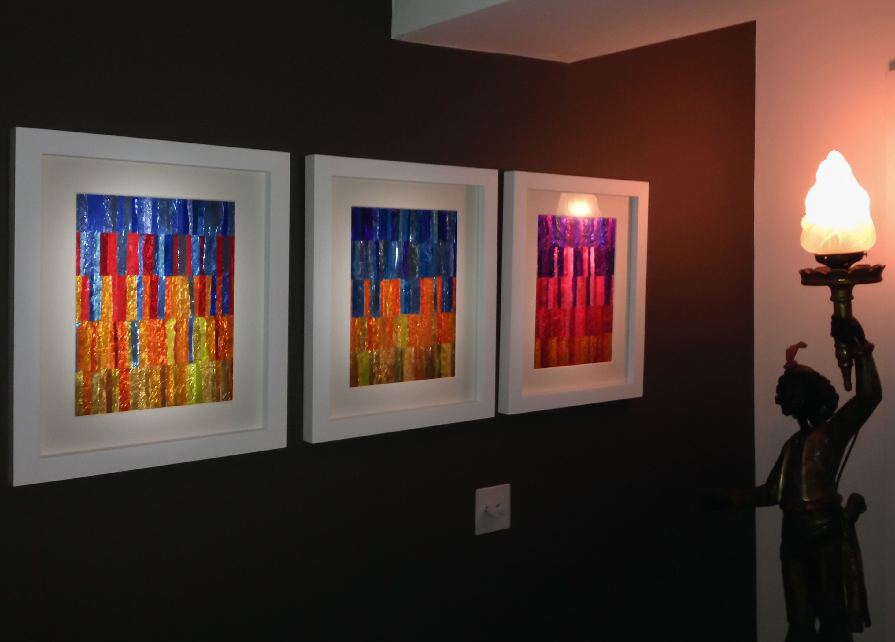 Sunset & Sunrise Foil Collage Artwork Commissions. Making art. The ...