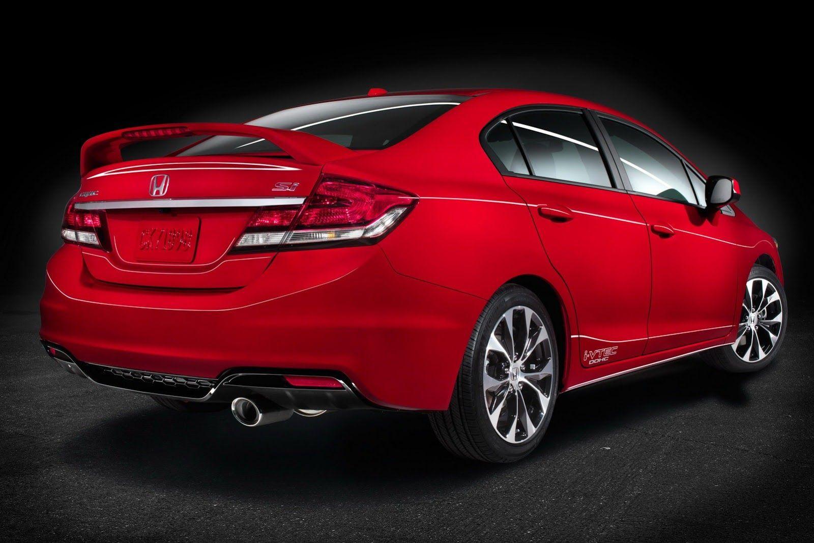 2013 Honda Civic SI (vía Carscoop Honda civic, Honda