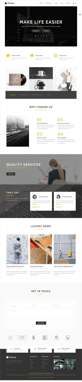 Citeno - Creative Multipurpose HTML5 Template | Corporate business ...