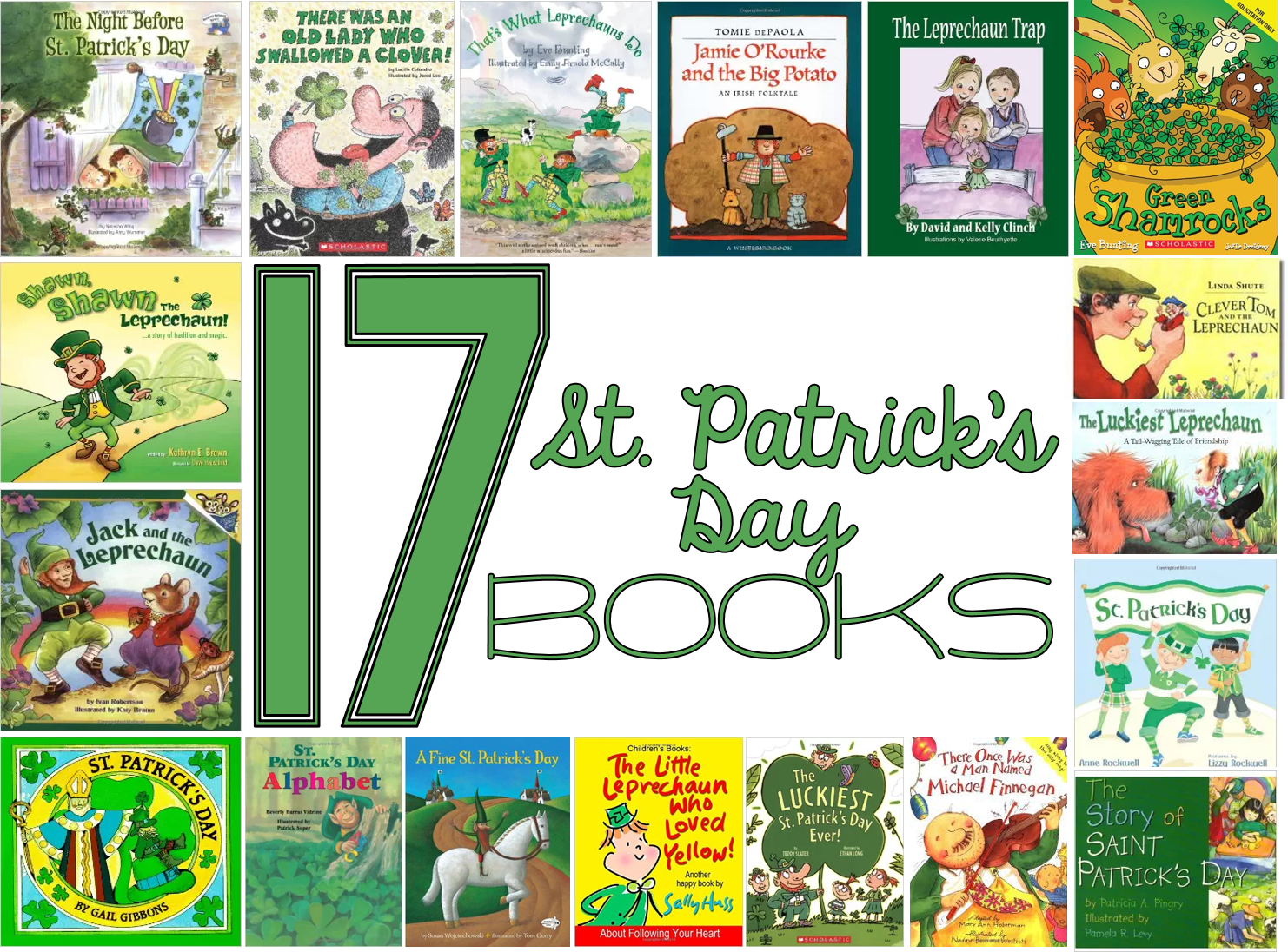 17 St. Patrick's Day books - read alouds