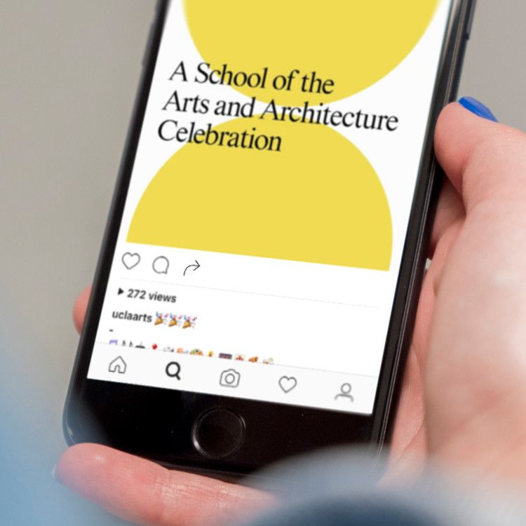 Website For UCLA School Of The Arts And Architecture