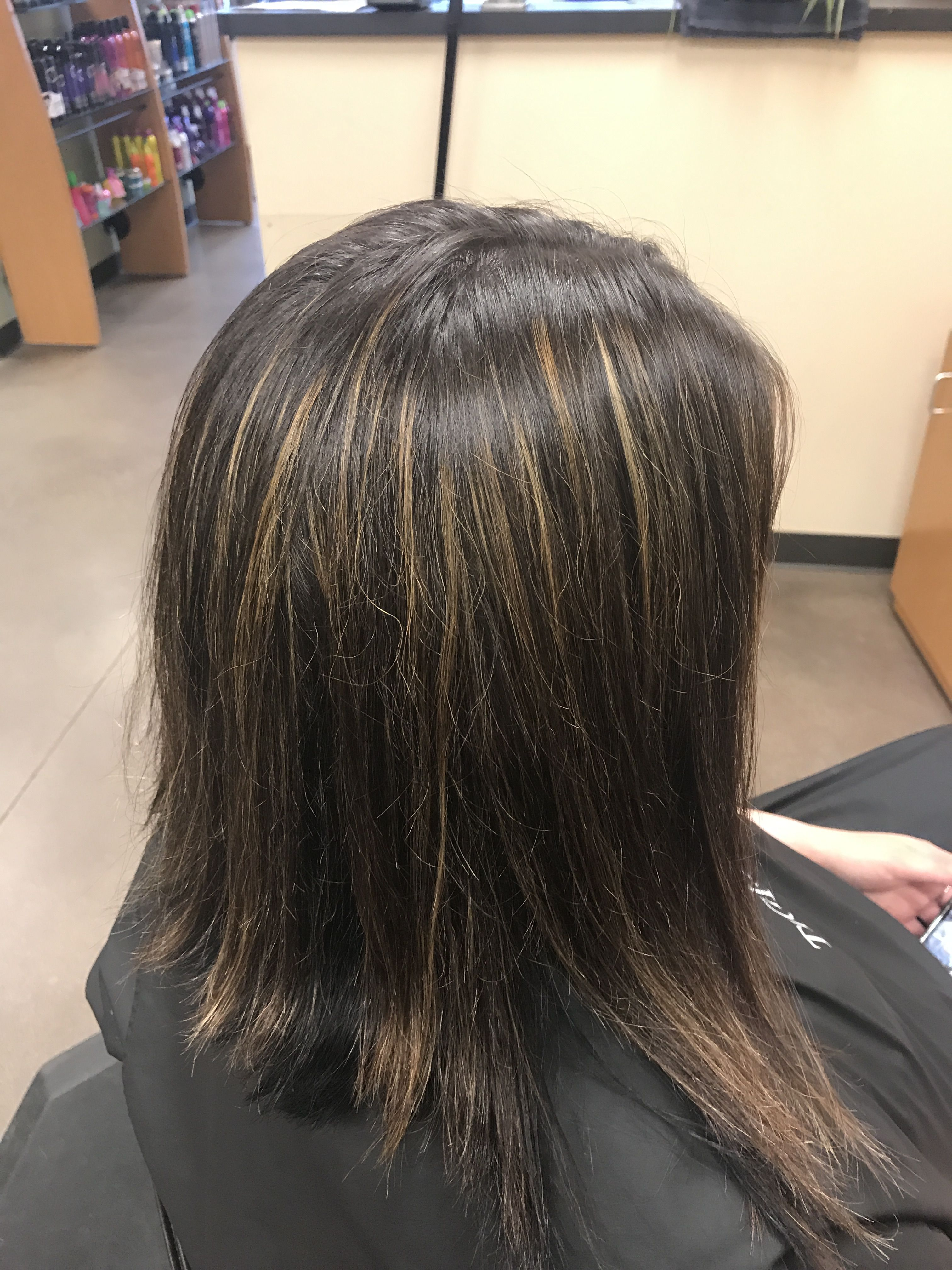 Was So Excited To Try Our New Keratin Smoothing Treatment I Did It
