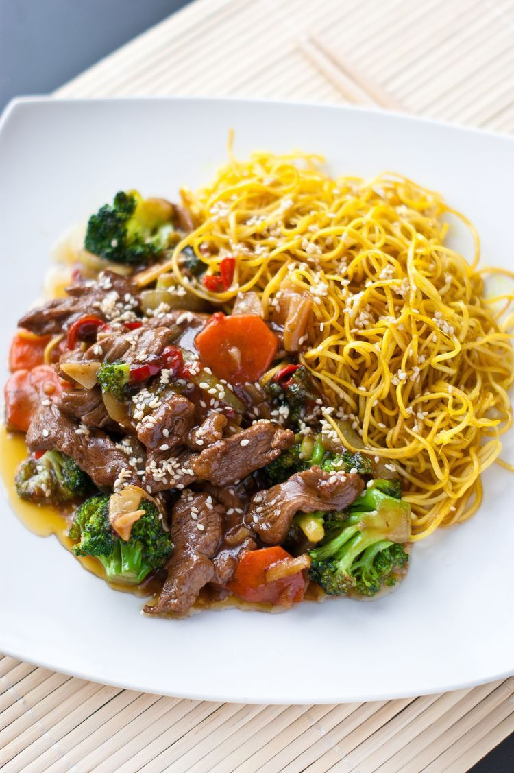 Slow Cooker Beef Chow Mein Recipe In 2020 Beef Chow Mein Chow