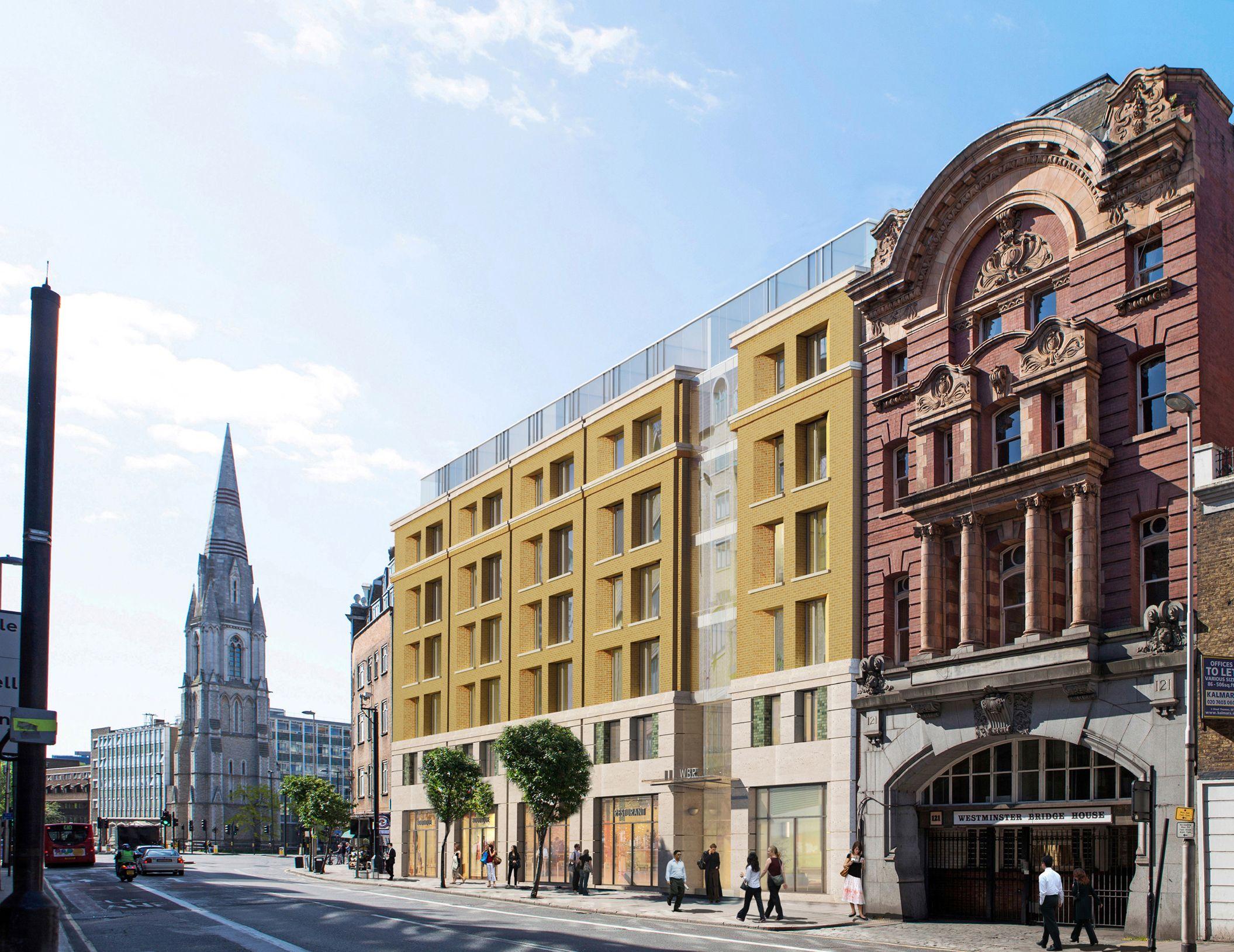 Marlin Apartments, Westminster Bridge Road, London Old ...