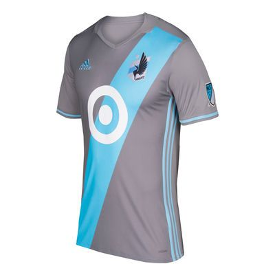de8babf92 Minnesota United FC adidas 2017 Primary Authentic Jersey - Gray ...