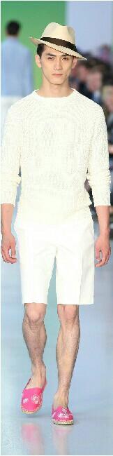 #Men's wear  Sibling  Spring Summer 2014 #Moda Hombre