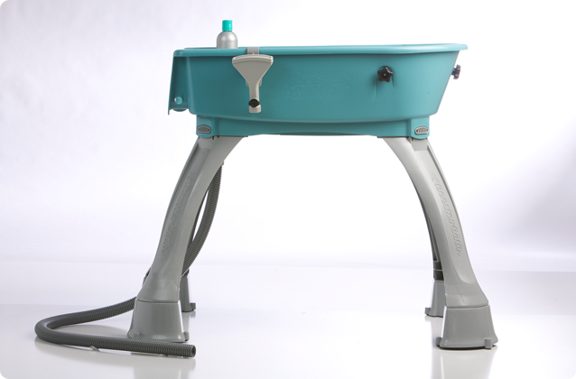Booster sink for dog washing