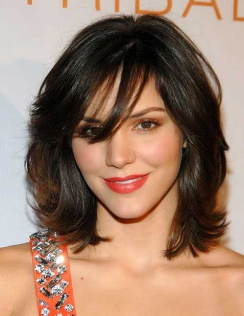 Side Apart Hairstyles for Thick Wavy Hair | Medium Haircuts ...