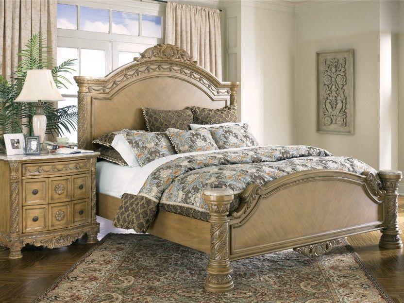 De lujo antiguo de la cama Conjuntos Conjuntos de muebles dormitorio ...