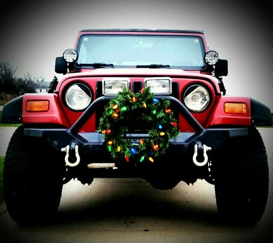 Christmas Jeep.Christmas Jeep Jeep Life Jeep Wrangler Quotes Jeep