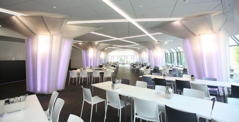 Deutsche Bank was redesigned by Mario Bellini to improve