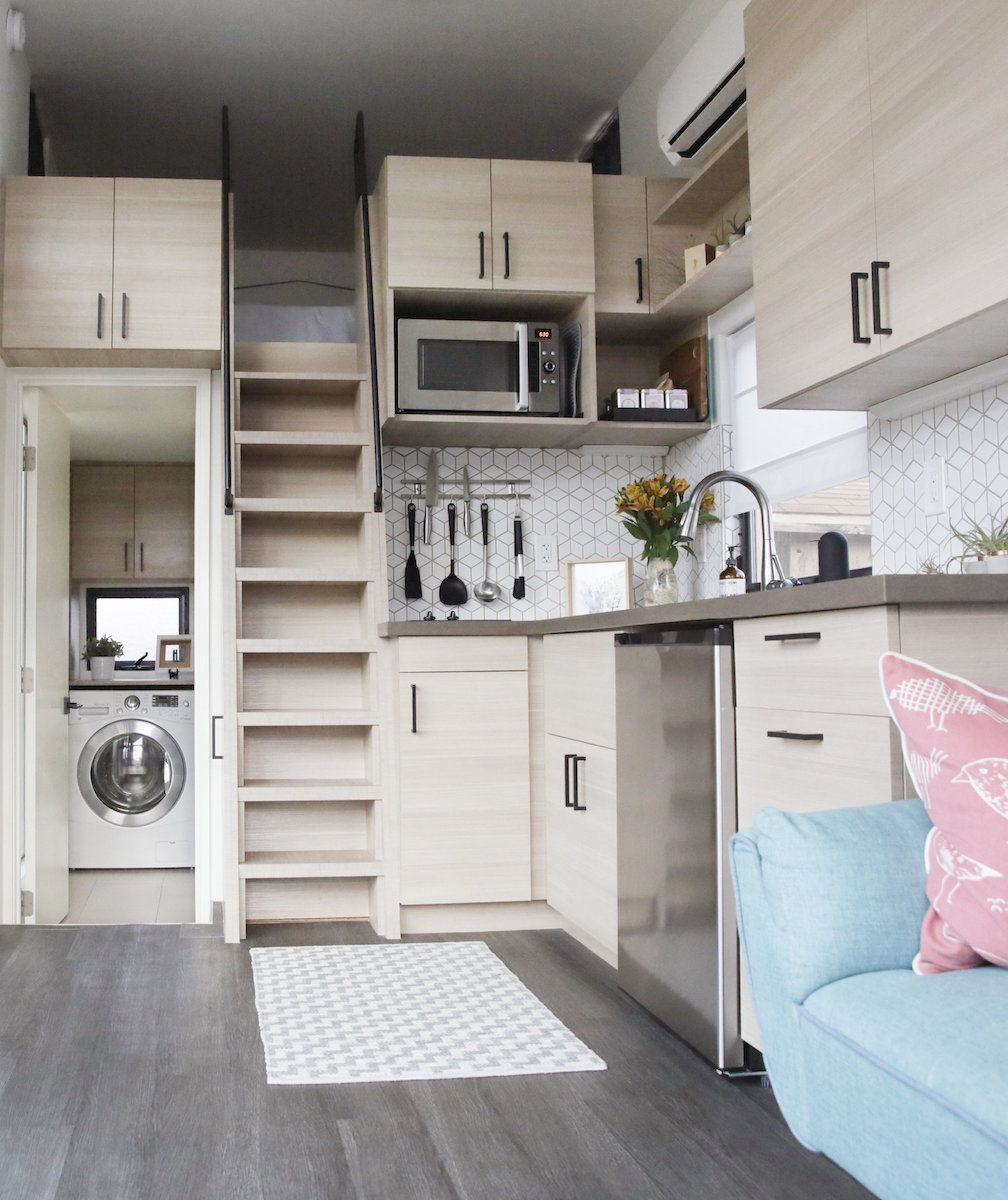 Space-Saving Decor Ideas from Inspiring Tiny Homes #tinyhomes