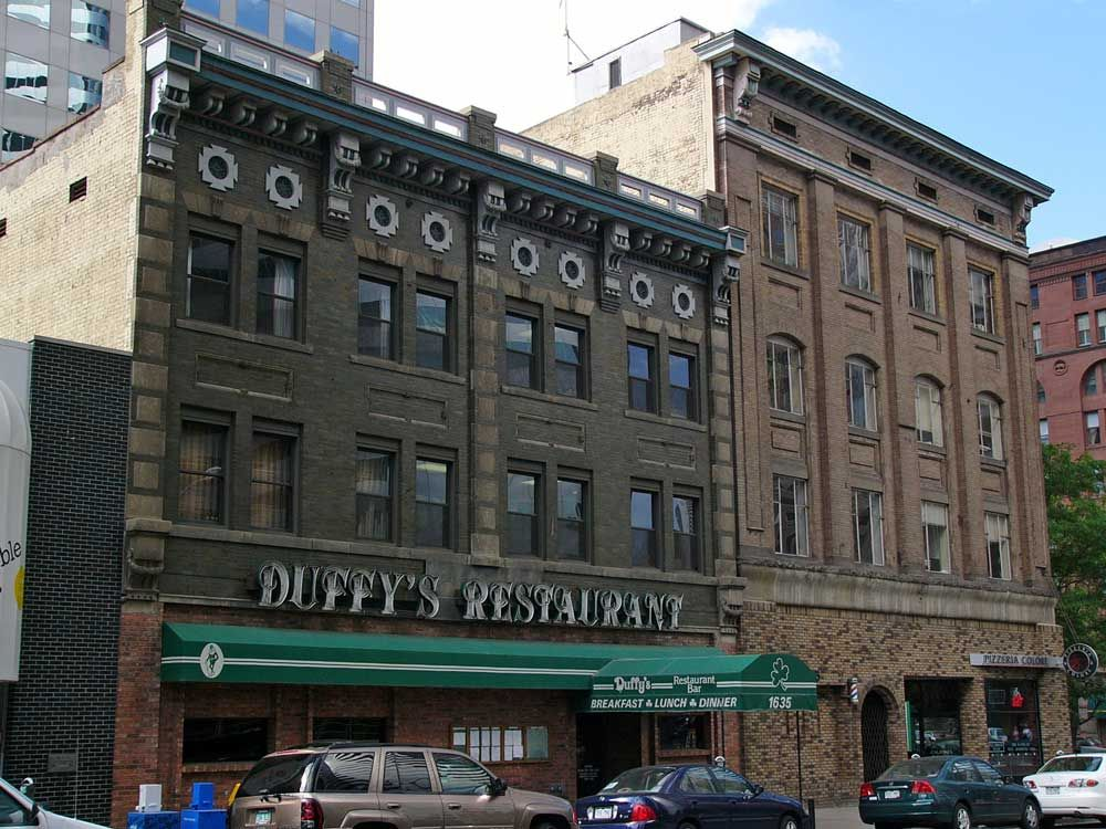 The original Duffey's Tavern, downtown Denver The