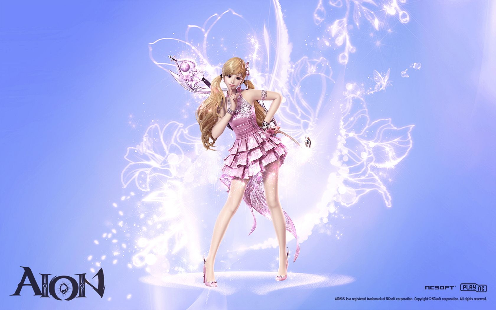 Aion 4 0 Four New Wallpapers Bard Wallpaper Female Art