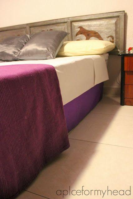 Forrando la cama