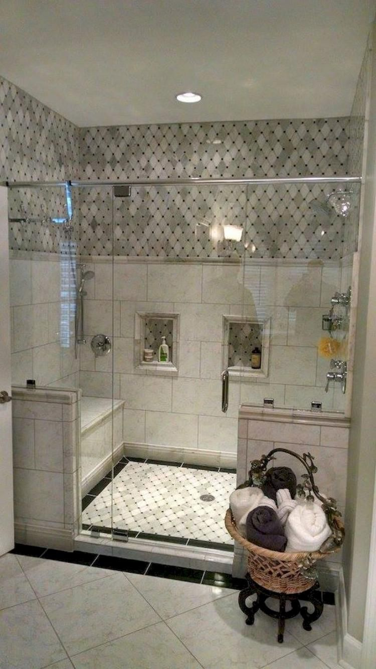 105+ Fantastic Small Master Bathroom Design Ideas #showerremodel
