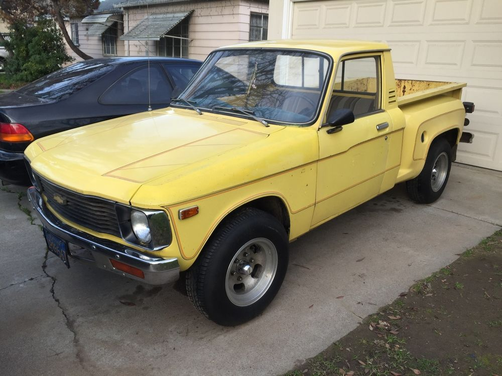 When Was The Last Time You Saw One Of These 1979 Chevrolet Luv Chevy Pu Truck Camioneta Pick Up Autos Autos Clasicos