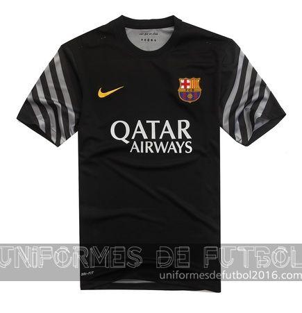 71d1359cc758f Venta de Jersey local para uniforme del portero Barcelona 2015-16 ...