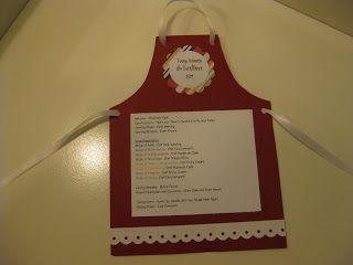 Recipe/Cooking Theme- invite idea