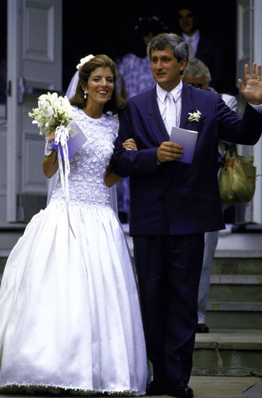 the best dressed celebrity brides of all time | kennedys | pinterest