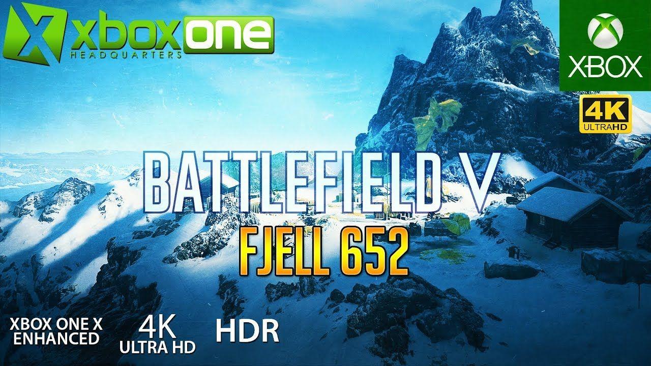 Xboxone 4k Battlefield 5 Bf5 Xbox One X Gameplay Fjell 652
