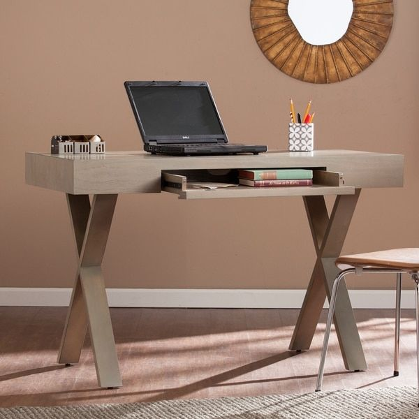 Harper Blvd Wilson Grey Wash Writing Desk