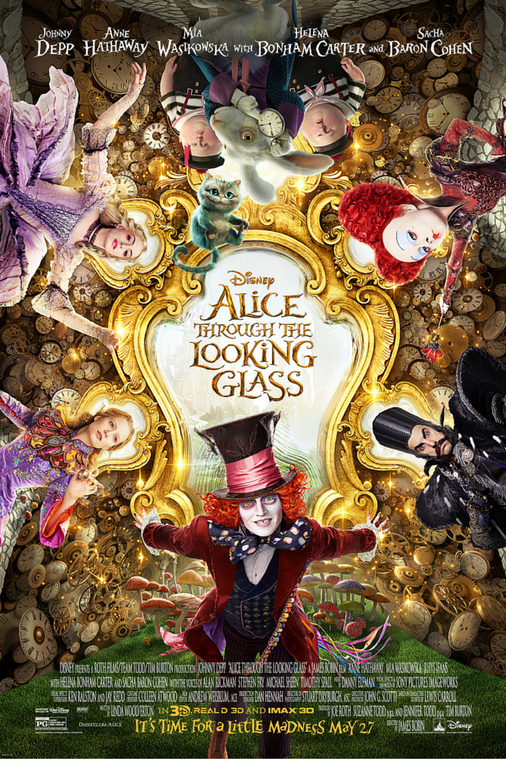 Alice Through The Looking Glass Spring Forward Tv Spot Just Like Fire Disney Alice Alice