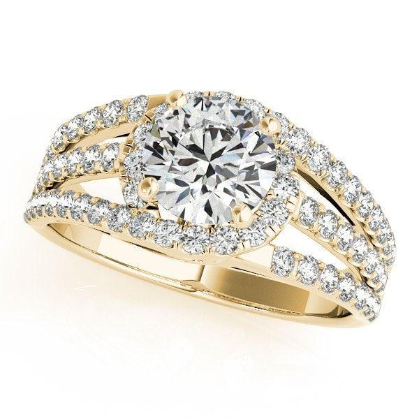 Multi-Row Engagement Ring