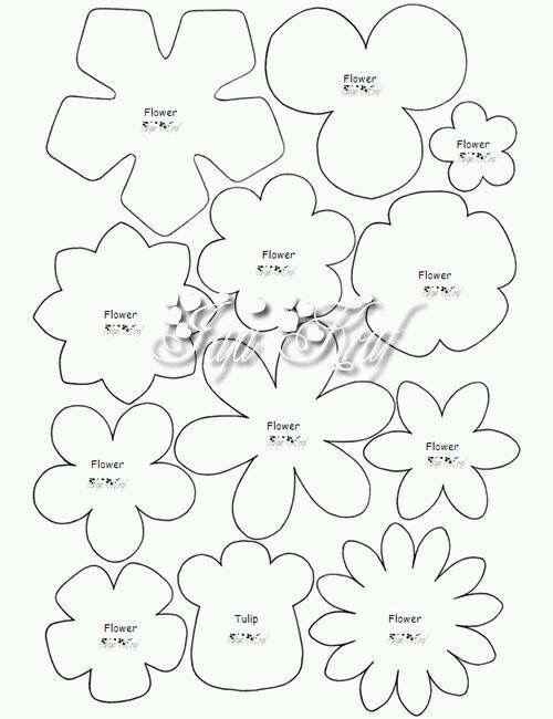 Pin By Marika Kusiak On Filcowe Kwiaty In 2020 Felt Flowers Patterns Felt Flower Template Felt Flowers