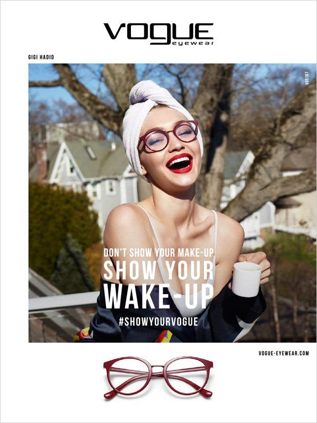 730c243f377 Gigi Hadid is the Face of Vogue Eyewear Special Collection ...
